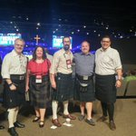 Image for the Tweet beginning: This happened. #KiltNight #epc2018ga
