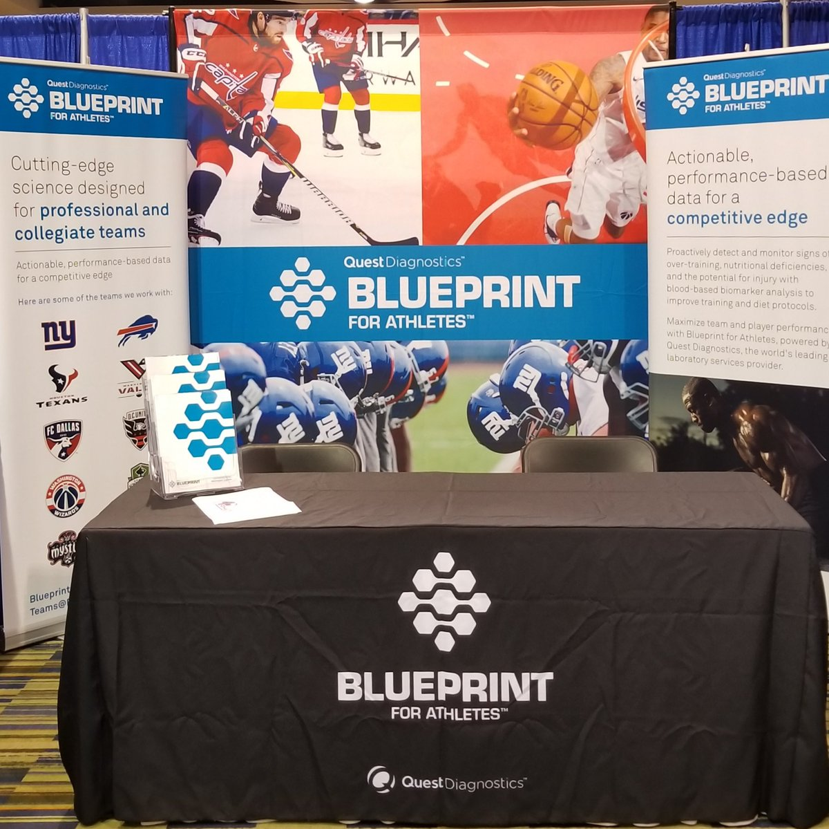 Blueprintforathletes myquesttowin twitter blueprint to provide white glove service and unique data solutions through evidence based blood testing come see us at booth 619 at the phatssphem malvernweather Images