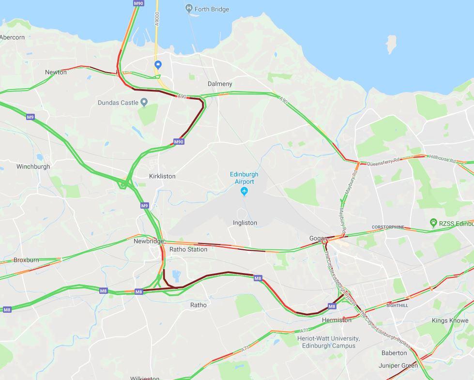 test Twitter Media - #RHSTravel UPDATE 17:22⌚  Congestion: #A8 Glasgow Road B/W outside @ScotlandRHShow E/B at Gogar #M90 N/B M90 Spur - Queensferry Crossing  #M8 E/B J2 Claylands - J1 Hermiston Gait & #A720 E/B Gogar - Calder due to an earlier RTC at Calder  @SETrunkRoads #edintravel https://t.co/Y8dwYZrYKS