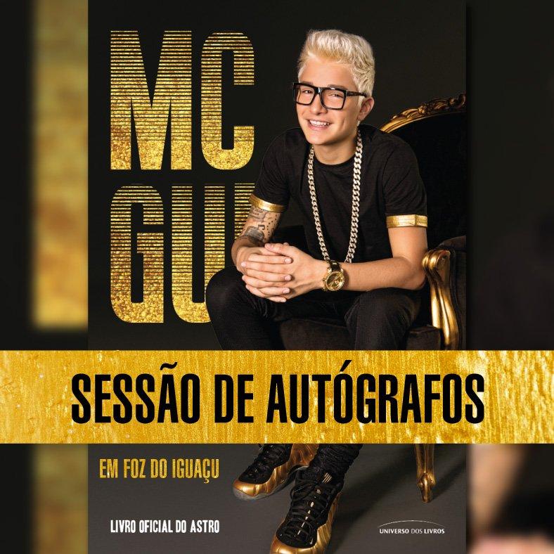 ... livro oficial do Mc Gui ( mcgui oficiaI), nosso querido Guilherme  Castanheira, chegou na A Página Livrarias de Foz do Iguaçu! Será dia 28 de  junho, ... 8714c906cd
