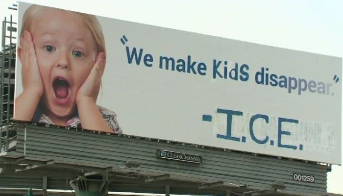 A billboard in California is calling out ICE following family separations at the U.S. border.>> | https://t.co/ZmnBWujDZZ#wmc5