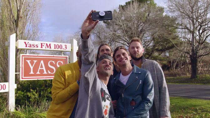 The Fab Fave hits Yass, Australia in a bonus #QueerEye episode. 💖 Watch: https://t.co/ztBWZm4LGJ