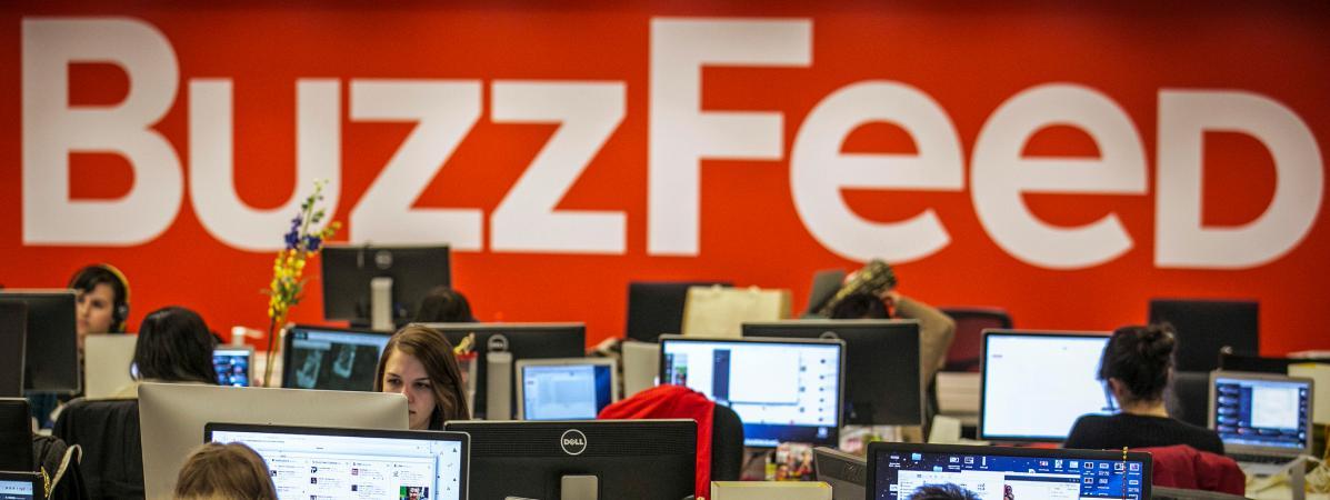 Les salariés de Buzzfeed en grève illimitée à partir de lundi https://t.co/J8rCGAIikO
