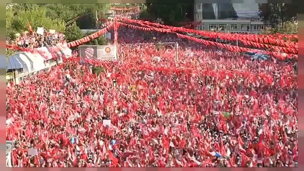 Massive crowds at final rallies before Turkish election https://t.co/rCK9V8csl0