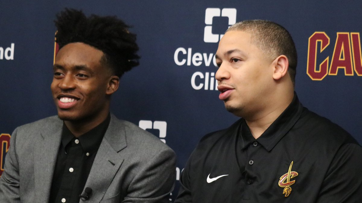 """[@CollinYoungBull] exemplifies hard work and dedication.""  - Coach Lue   #AllForOne"