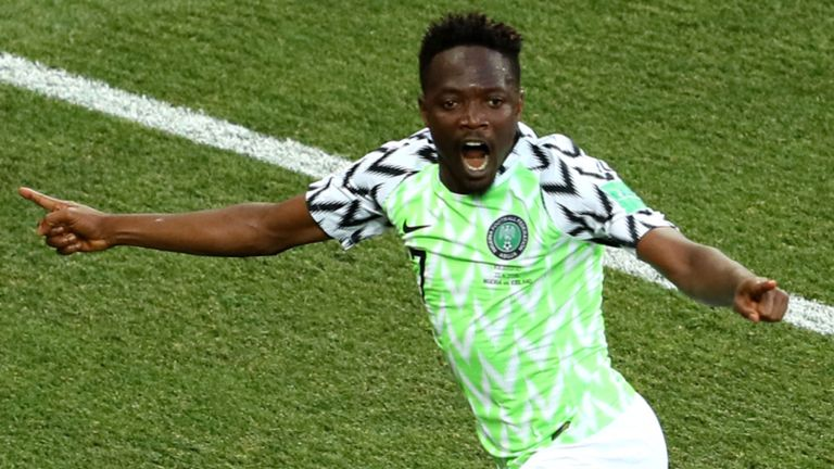 ✍️ REPORT ✍️  Ahmed Musa scored twice on his return to the starting line-up as Nigeria kept their World Cup knockout hopes alive and dealt Iceland's chances a blow with a 2-0 win in Volgograd.  Read here: https://t.co/XDYlKQn6HO