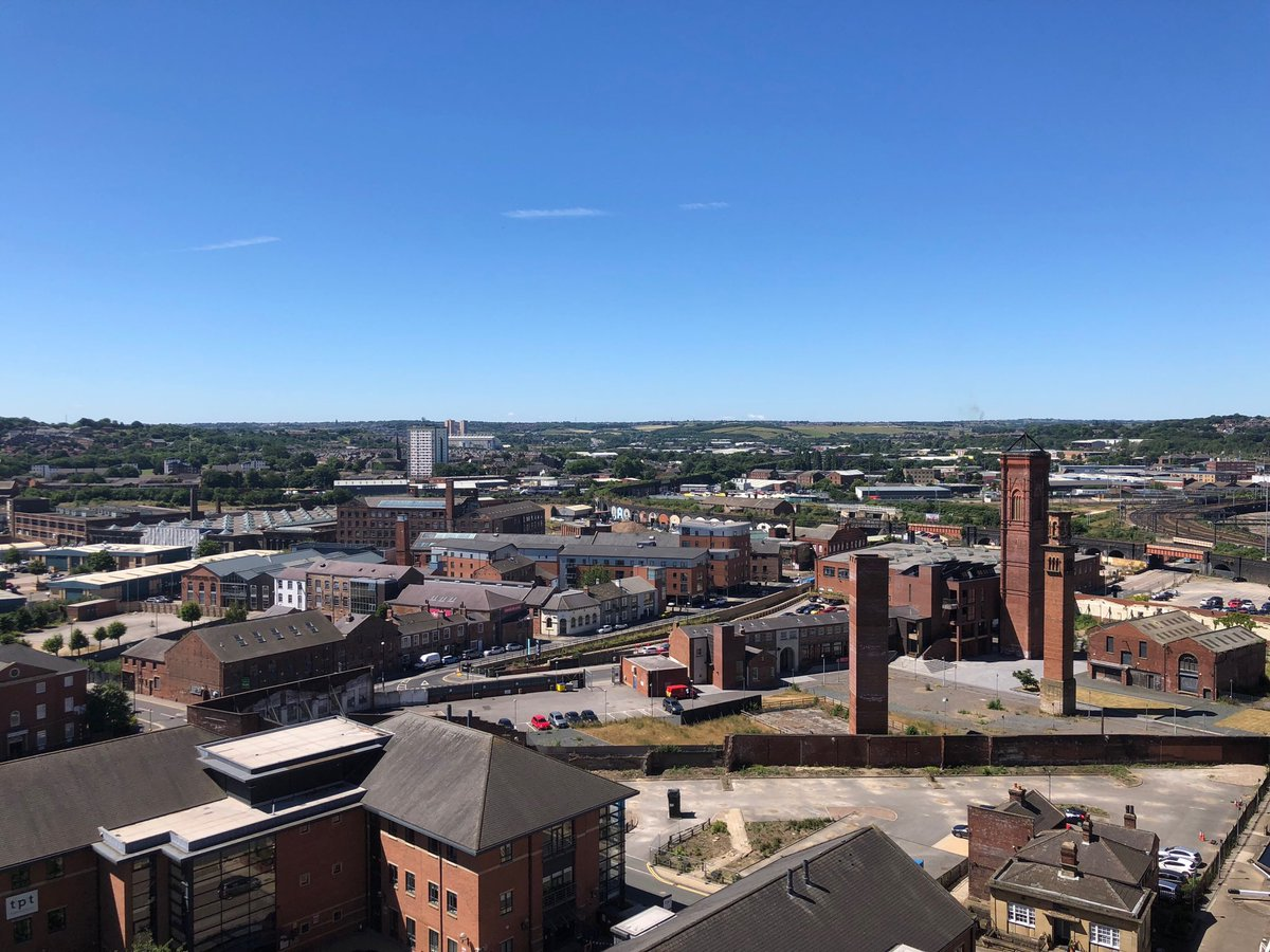 Great view of Holbeck today.