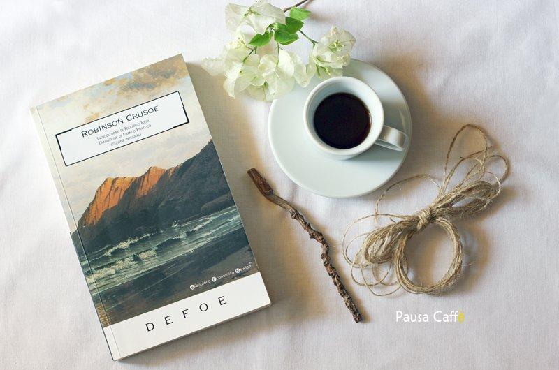 Sul blog trovate la recensione del romanzo di avventura Robinson Crusoe di Daniel Defoe.  http:// www.pausacaffeblog.it/wp/2018/06/daniel-defoe-robinson-crusoe.html#libri #leggere #letture #leggo  - Ukustom