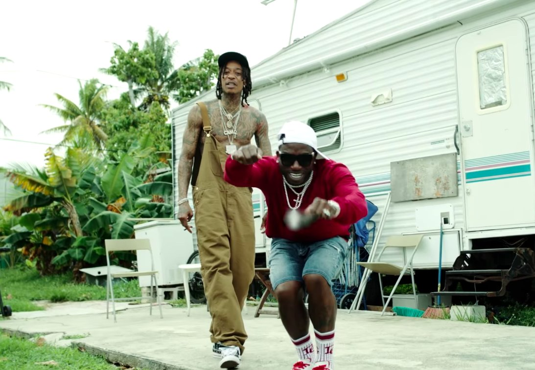 Wiz and Wizop. Watch @wizkhalifa and @gucci1017's 'Real Rich' video: https://t.co/n1VWWm90ND  https://t.co/NzUa51nbdp