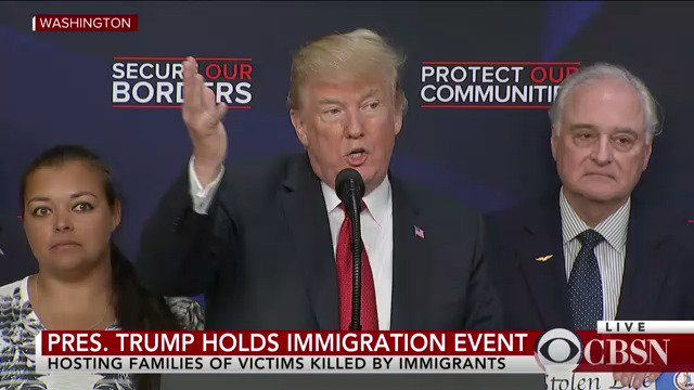 WATCH LIVE: President Trump is making new comments on immigration with 'Angel families' -- families affected by crimes committed by undocumented immigrants https://t.co/aK4R8XyxD8
