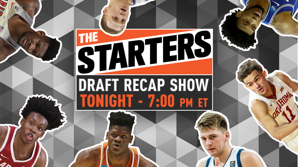 Tonight on @NBATV at 7pm ET, it's #TheStarters NBA Draft Recap!