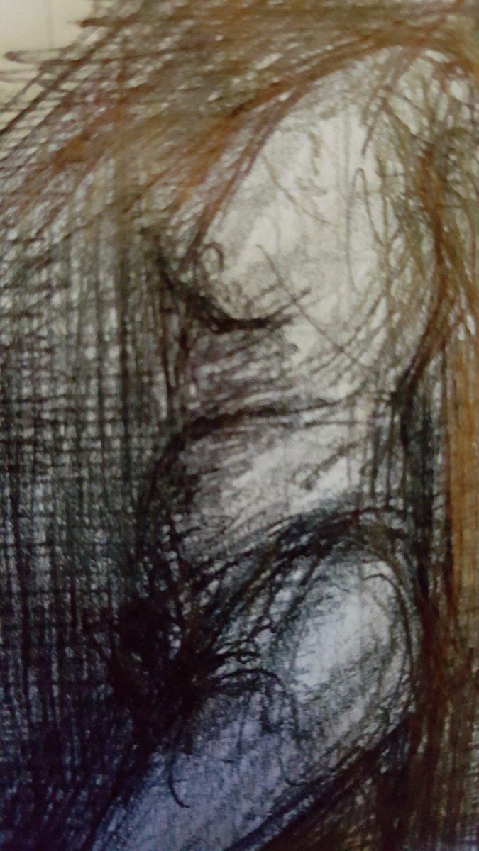 Graphite & pen on paper  #sharp #unsharp #art🎨#artworks #artwork #sketch #sketches #sketchbook #doodles #drawing #drawings #graphite #pen #paper #body #figurativeart - #kunst #skizze #skizzen #skizzenbuch #zeichnung #graphit #papier #körper #scharf #unscharf #figurativekunst