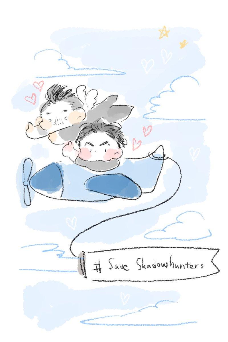 떠따떠따 비행기 날아라 날아라 | #SaveShadowhunters |~ ✈️ | #ShadowhuntersPlane |~✈️
