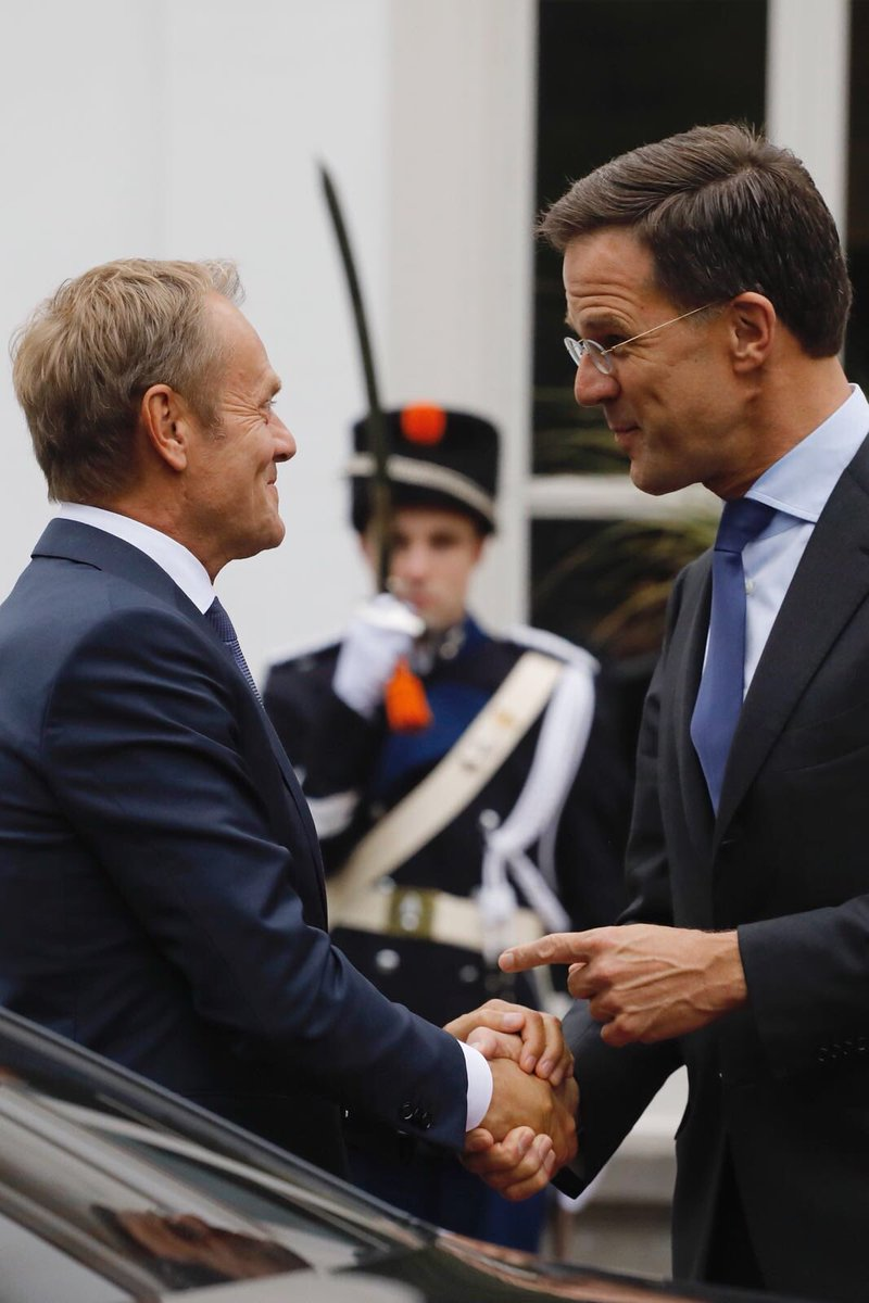 Good talks in The Hague this evening with @MinPres Rutte on #migration and the June #euco agenda.