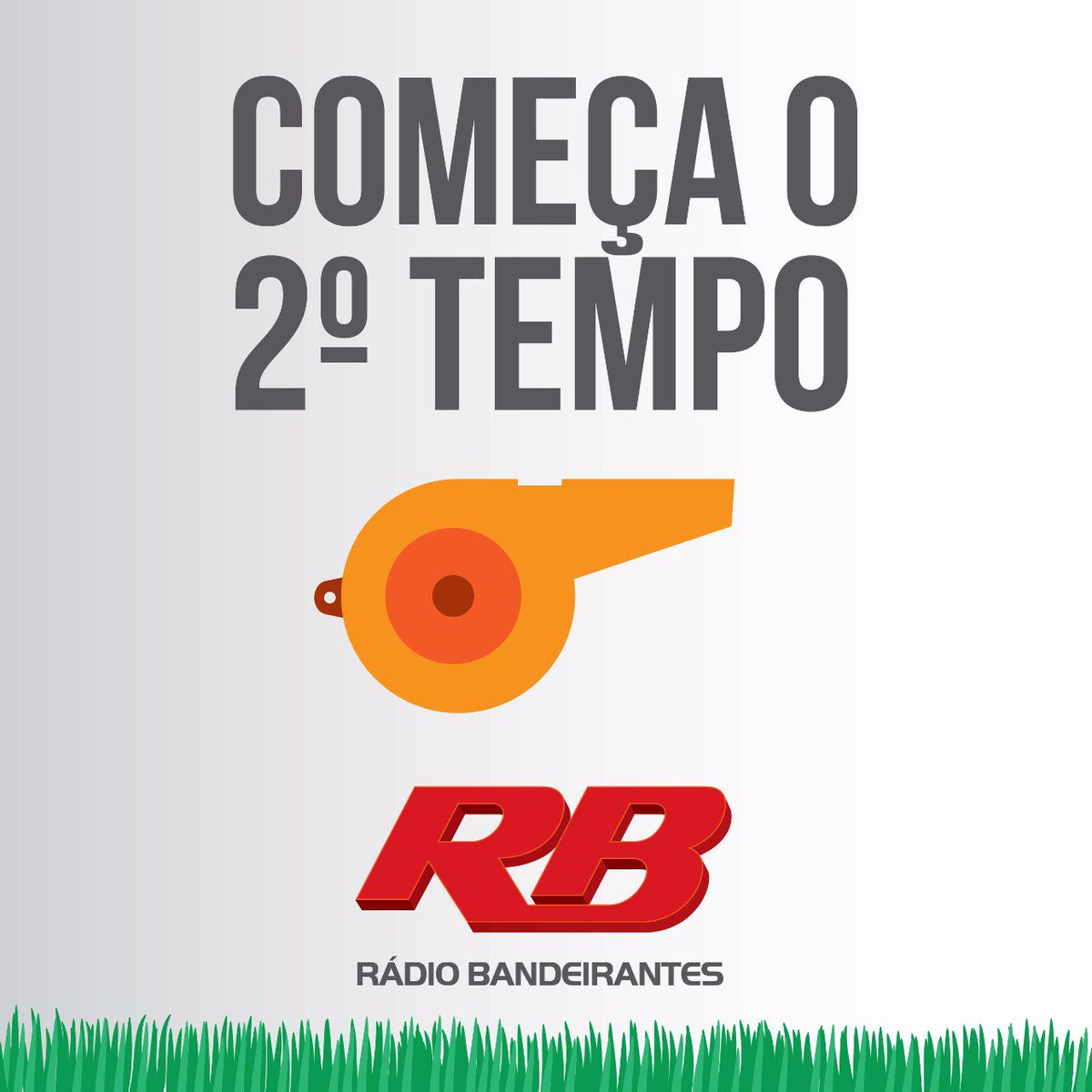 #Copa2018: COMEÇA O SEGUNDO TEMPO EM KALININGRADO!  #SRB 1 X 0 #SUI  OUÇA! https://t.co/sjQiKGNu5t  #FocoemVocê