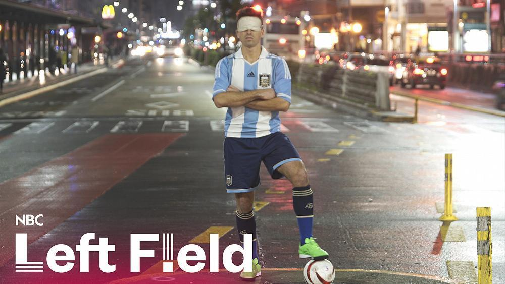 Blind soccer player goes for gold with Argentine team https://t.co/DqwJWpwOZa