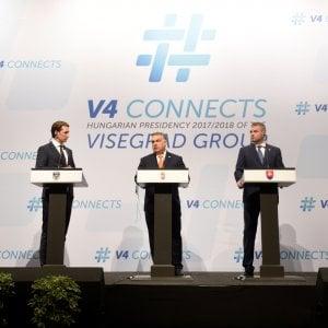 """#Orban : il gruppo di #Visegrad #VisegradGroup mai così forte con #Austria ed #Italia, """"finché l\"""
