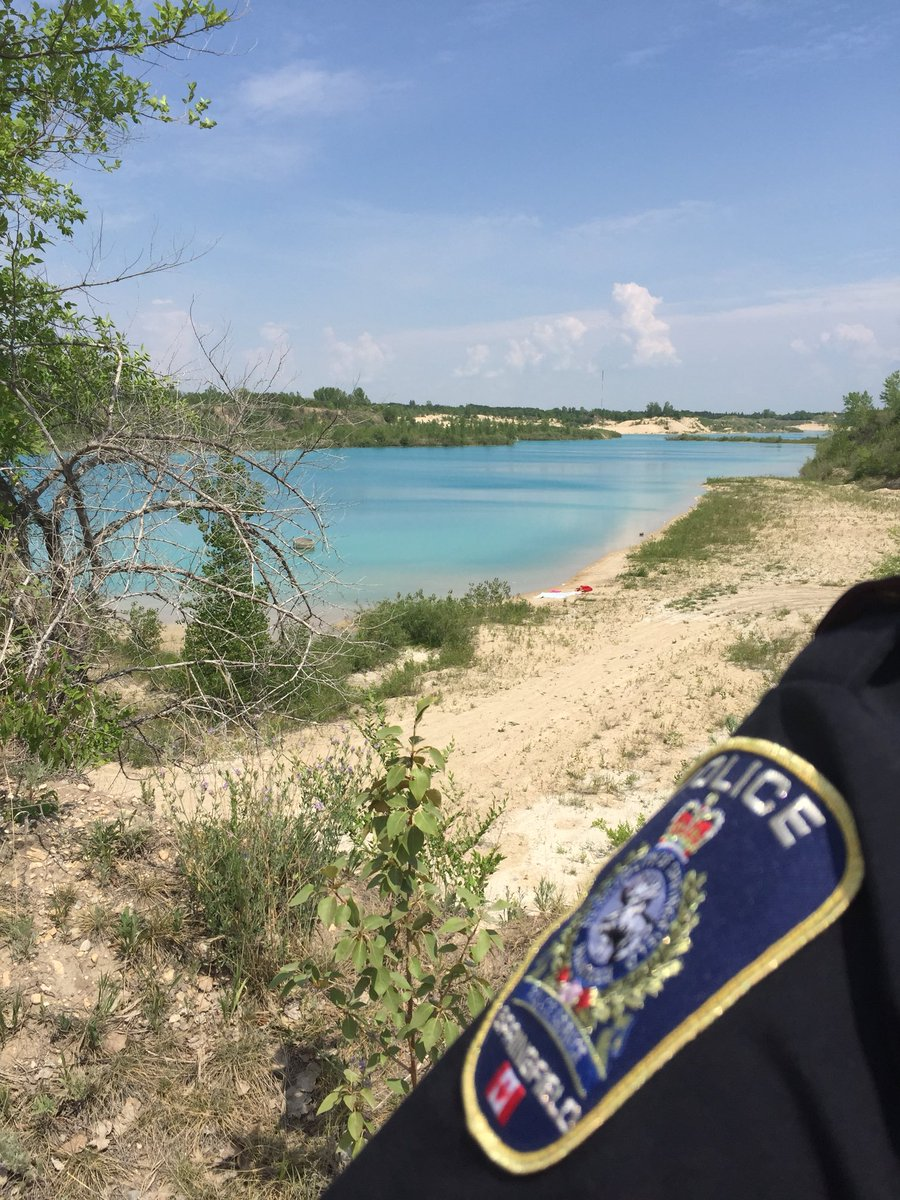 You will see the Springfield Police Service patrolling the gravel pits in the RM this weekend. $113.00 ticket for trespassing on private property plus tow fees and fines if you're parked in a No Parking area. Thanks for your cooperation! <br>http://pic.twitter.com/pkMDVNJHTf