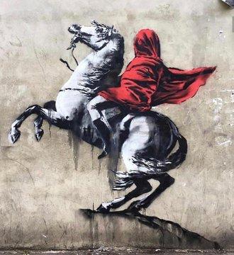 Посмотреть изображение в Твиттере В Париже появились новые граффити Бэнкси В Париже появились новые граффити Бэнкси DgUeG0 XkAAKPvd format jpg name 360x360