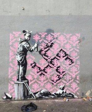 Посмотреть изображение в Твиттере В Париже появились новые граффити Бэнкси В Париже появились новые граффити Бэнкси DgUeI6HW0AICil4 format jpg name 360x360