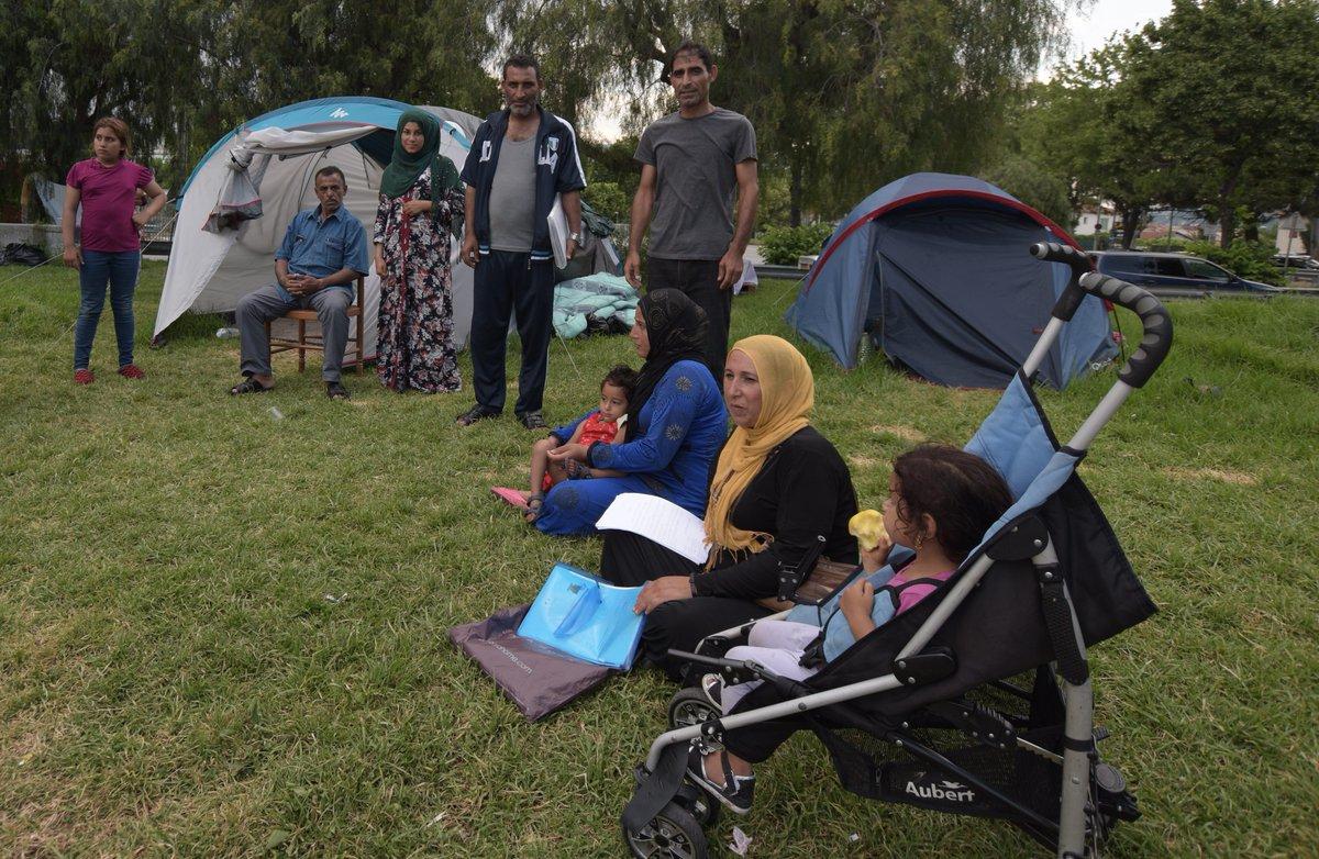 La justice ordonne l'évacuation du camp de réfugiés de la plaine du Var à Nice https://t.co/ZpBB1FslNT