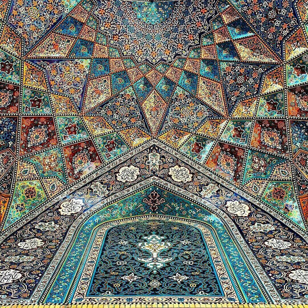 Agha bozorg mosque, kashan,Iran