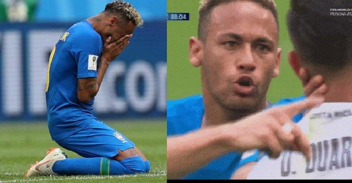 """Pioggia di critiche su Neymar: simulazione, pianto e """"figlio di p..."""" all'avversario - https://t.co/hqc2cQKkkl #blogsicilianotizie #todaysport"""