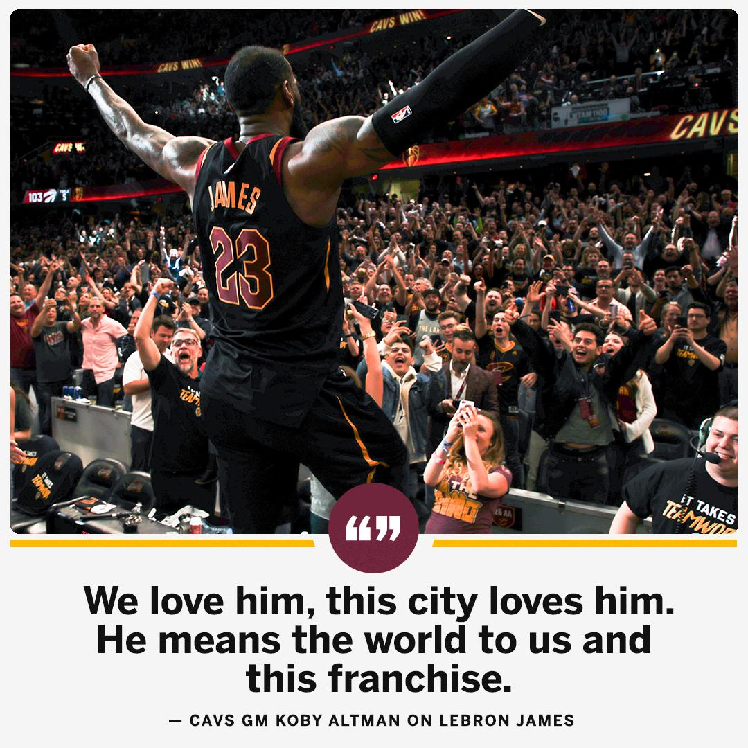 But can the Cavs convince LeBron to stay? https://t.co/n5bRKoTlig