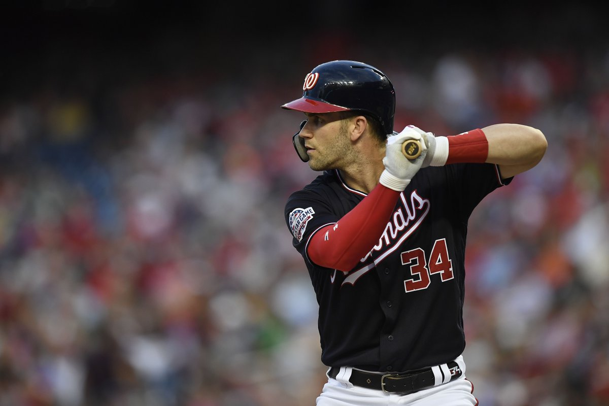 Bryce Harper will participate in HR Derby on one condition: if he makes the All-Star team, per @barrysvrluga