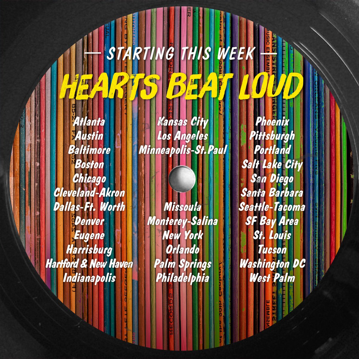 Here is some big news in the field of medicine and heart. New cities for @heartsbeatloud