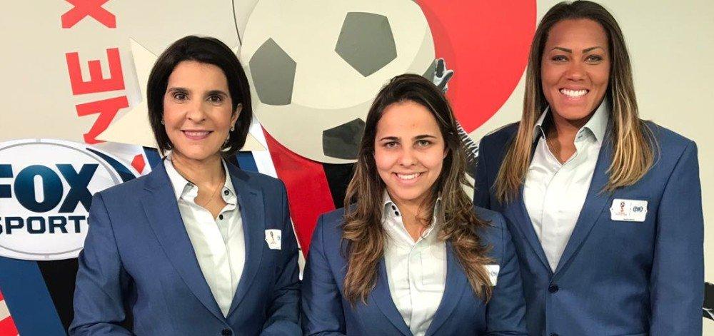 Exclusivo: com cobertura 100% feminina da Copa, Fox Sports 2 naufraga e tem menos audiência que Esporte Interativo > https://t.co/kcAbpLMfYi
