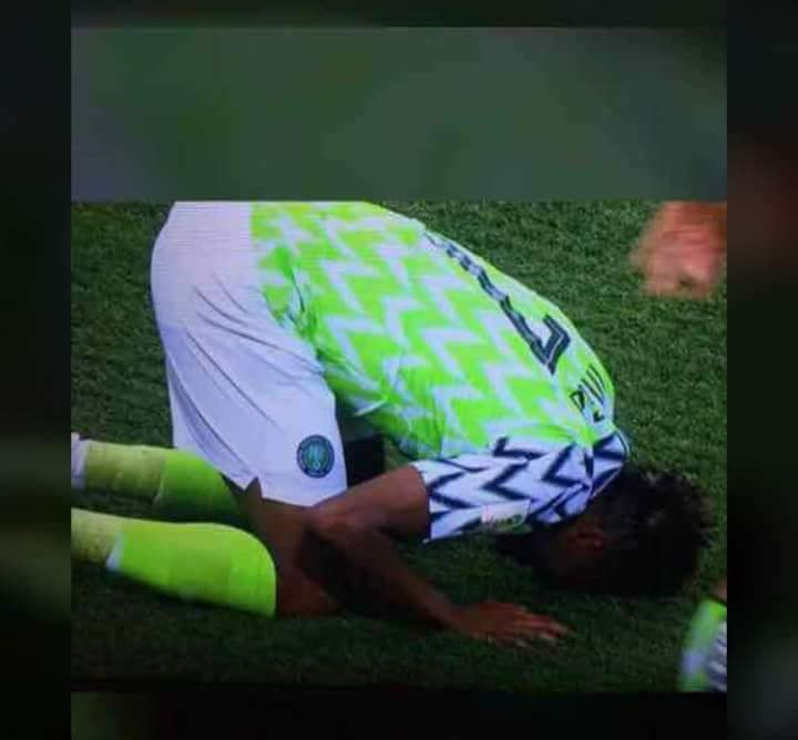 Ahmad Musa wants to Islamize Nigerian super eagles...