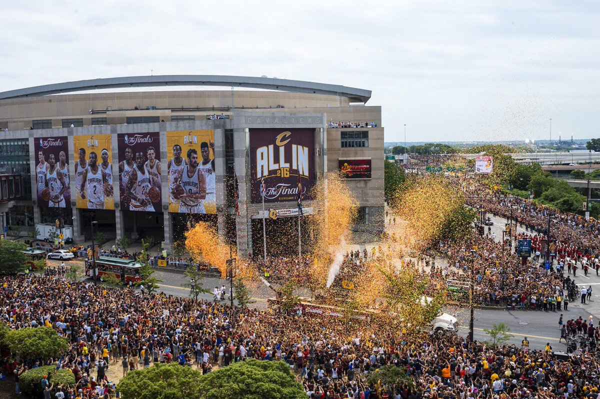 Two years ago today.    #CavsParade    #AlwaysBelieve<br>http://pic.twitter.com/dI0iECVAHL