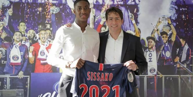 L1 - PSG - Moussa Sissoko signe son premier contrat professionnel au PSG https://t.co/FnIVHBF6Lt