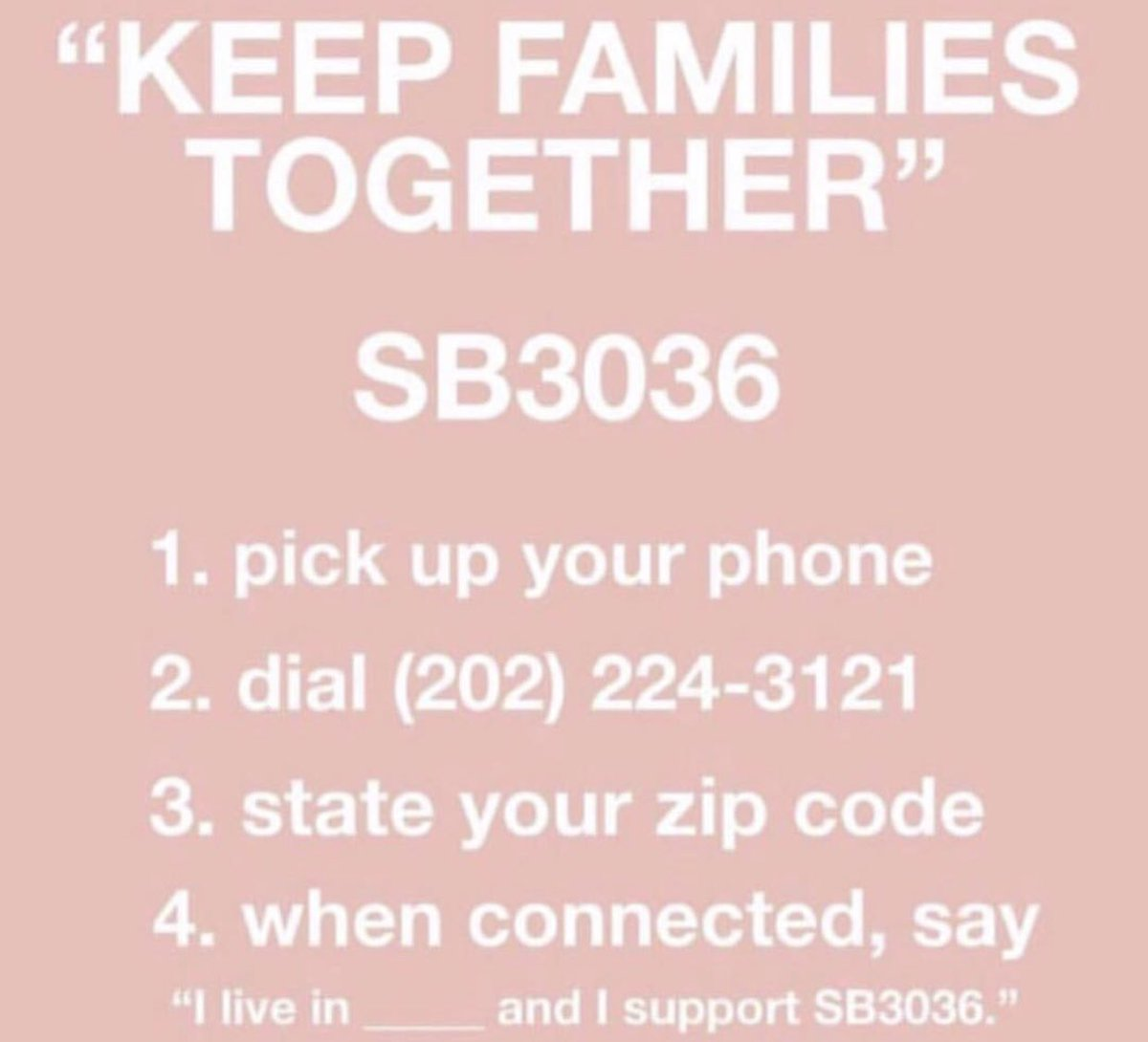 "Show you really do care. Call your senators. It takes 2 seconds 🖤 & Before you mention the so called ""executive order"" that was signed, just know that it does nothing to reunite 2,000+ kids with their families. They may never see each other again. Call now."