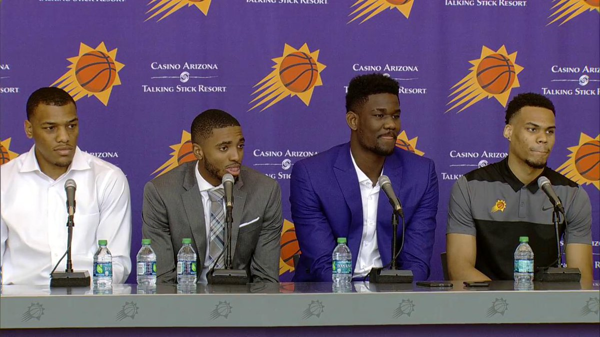 'I will always have that chip on my shoulder.' - DeAndre Ayton on wanting to step up as a leader for the @Suns