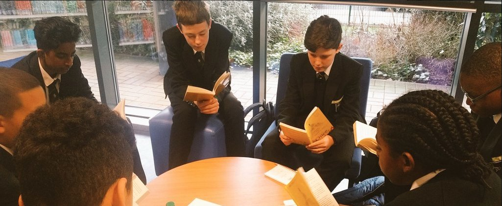 """""""It was very enjoyable and I felt as if I was doing a helpful job educating younger pupils at my school"""" says a #volunteer student Book Club Leader from Forest Hill School of their experience. @FHS_Lib @SydenhamSchool @giveabookorg #bookclubbuildsskills #smallcharityweek"""