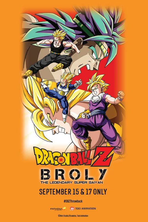 Remastered Dragon Ball Z movies coming to US theaters! ew.com/movies/2018/06… #DBZ #movies