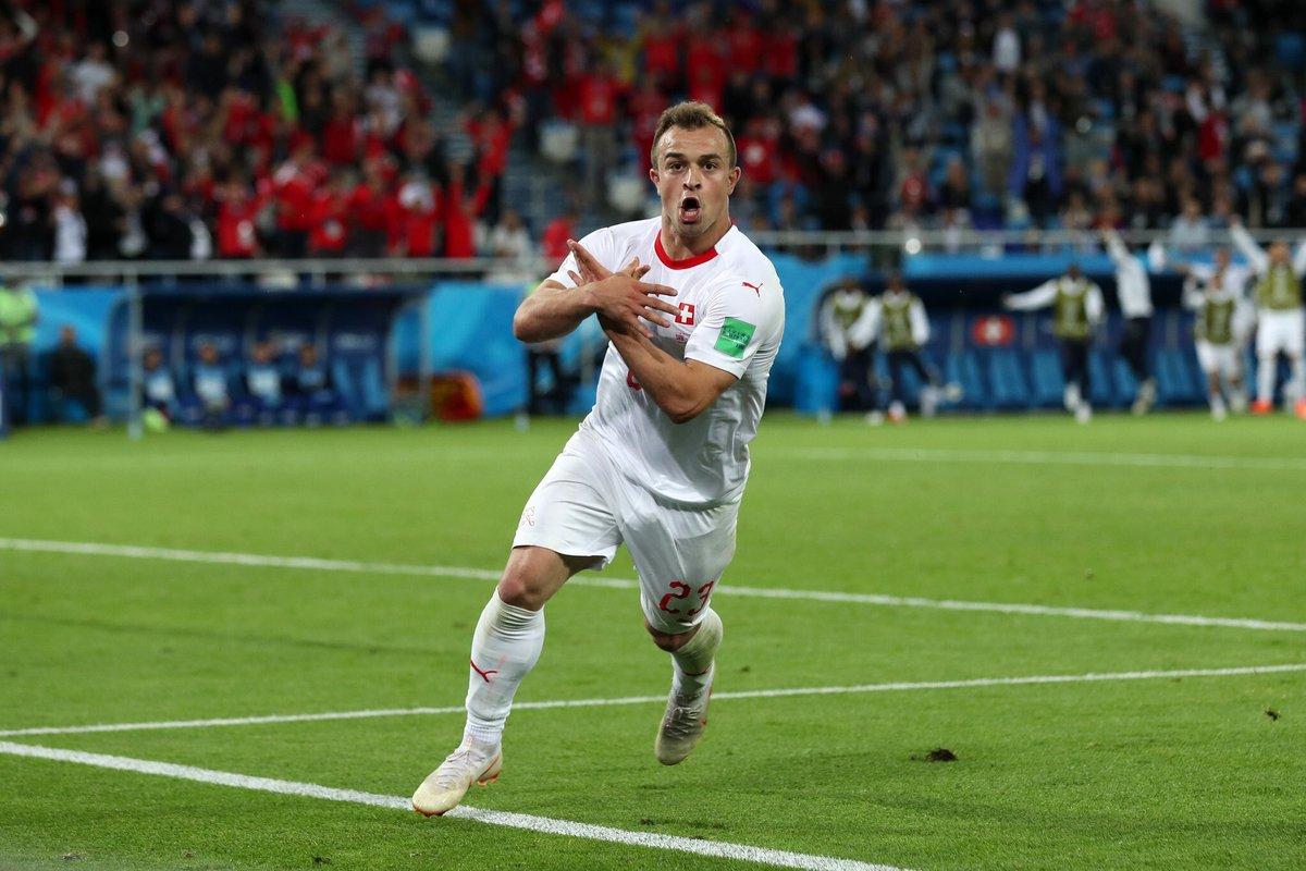 Сербия - Швейцария 1:2. Албанский подтекст - изображение 6