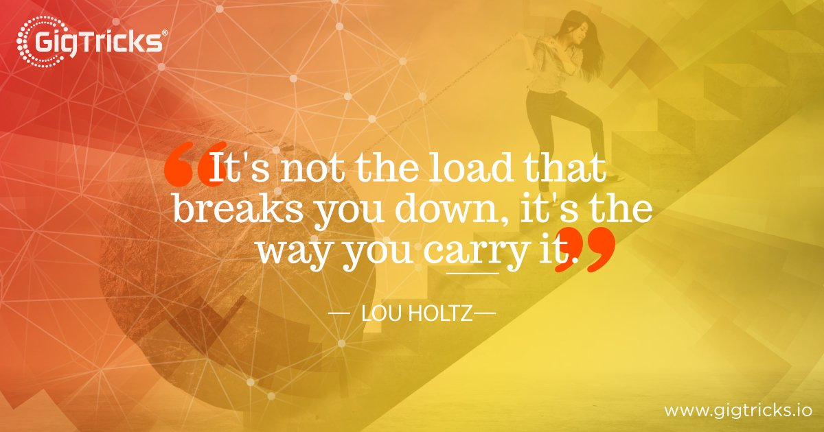 The way you tackle things can either make or break you! :) GigTricks Pre-Sale will go LIVE on 1st July 2018. Visit:  https:// buff.ly/2v9IFh7  &nbsp;   #ICO #Blockchain #Crypto #GigBitToken #GigTricksICO #Freelancer #Entrepreneurship <br>http://pic.twitter.com/8aLJDdYI8M
