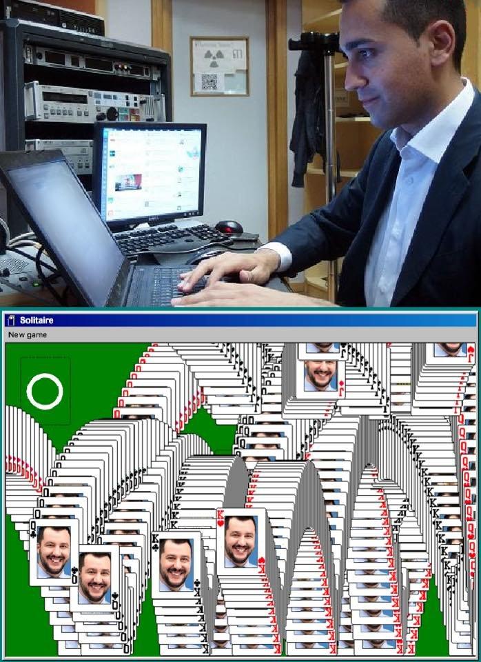 Pensava di aver vinto, e invece...#DiMaio #OraoMaiPiu #Salvini #m5s  - Ukustom