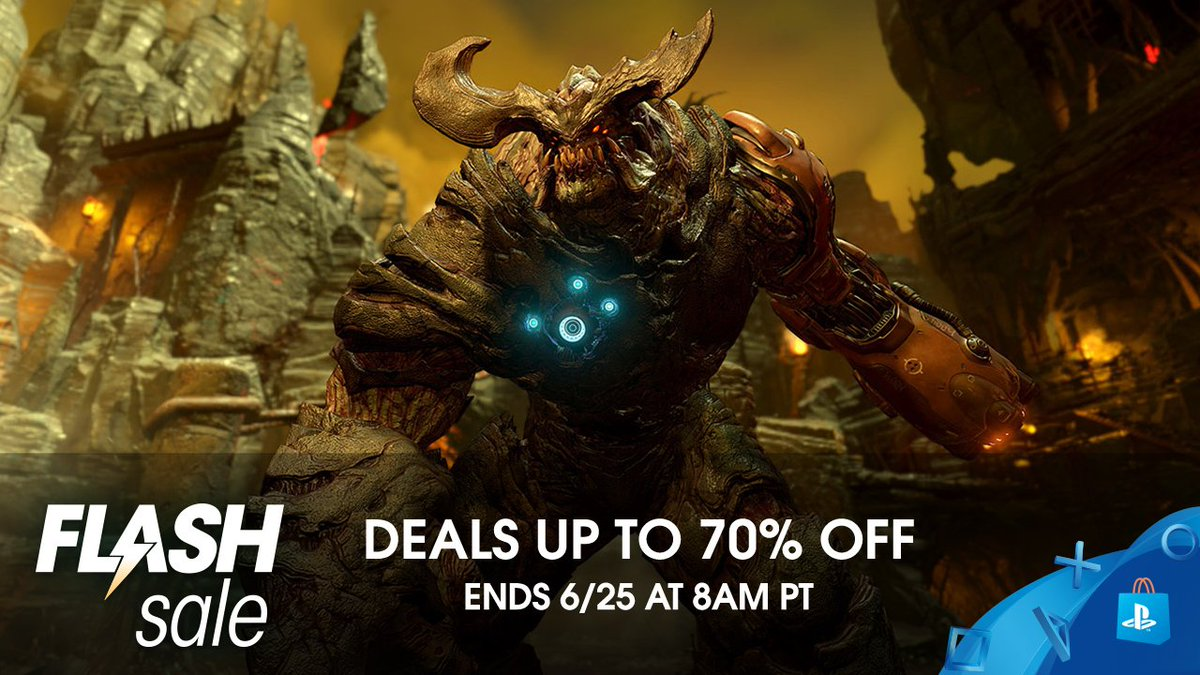 Flash Sale! Save big on otherworldly games at PS Store:  https:// play.st/2Mhz3Em  &nbsp;  <br>http://pic.twitter.com/sqhZfCFWMD