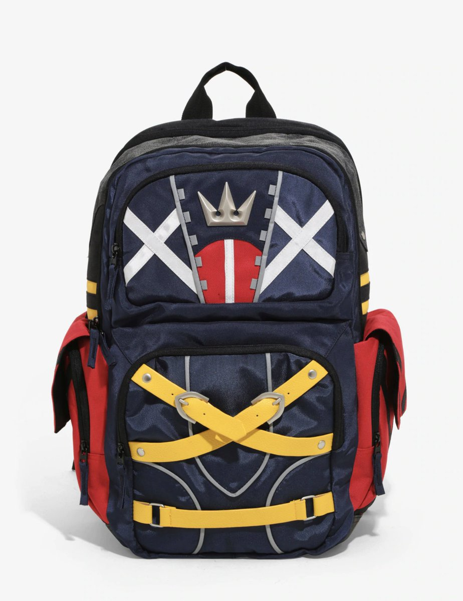 There s 5 left! https   www.hottopic.com product disney -kingdom-hearts-tactical-backpack 11360920.html …pic.twitter.com GQcRAjHgU2