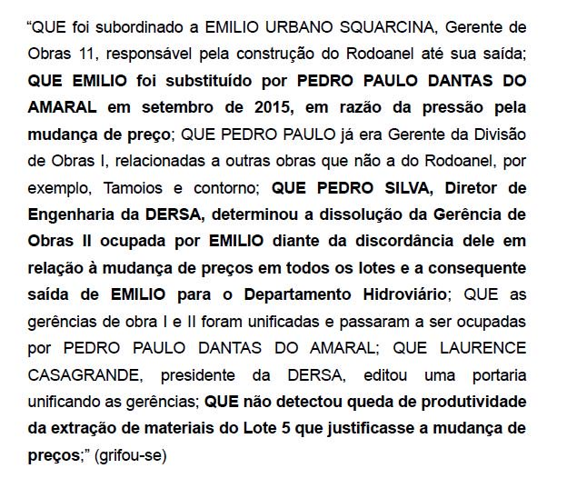 Fiscal da Dersa confirma 'pressão pela mudança de preço' nas obras do Rodoanel Norte. https://t.co/mMxIx7Oiz0