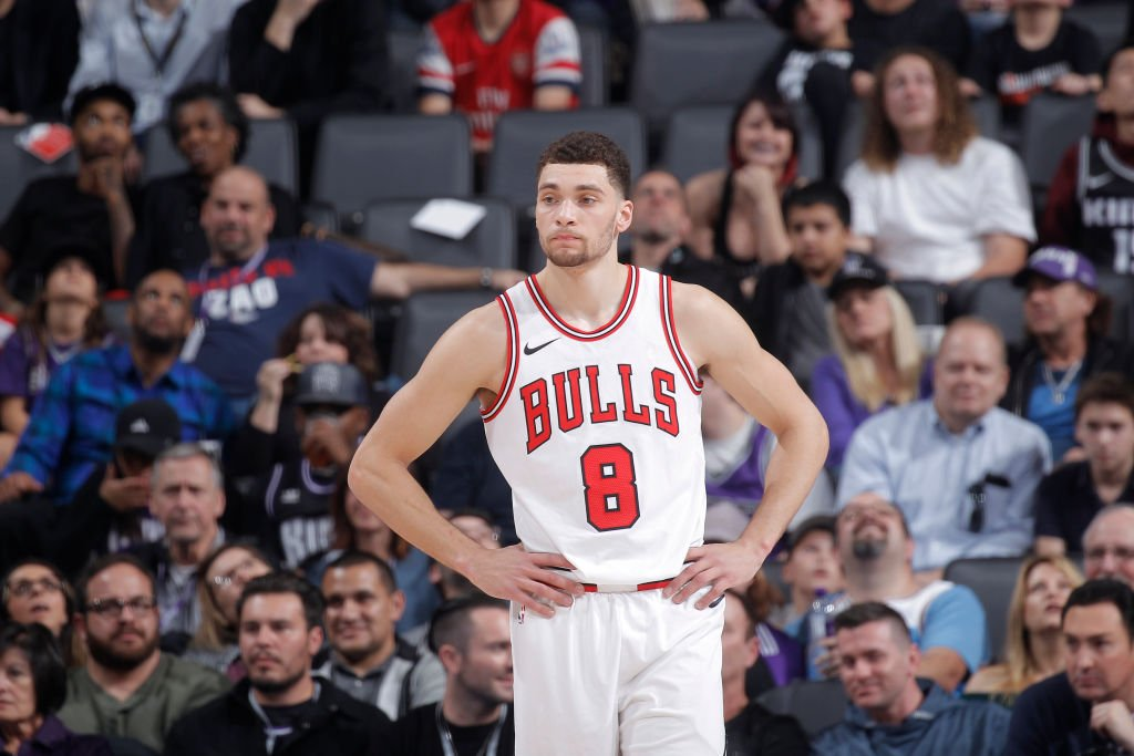 """Bulls planning wait-and-see approach to Zach Lavines restricted free agency after organizations """"near universal support"""" just isn't there anymore, per @NickFriedell ble.ac/2twcF2j"""