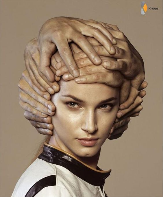 My Hair Style (yes I know its photoshopped) of the Day! #hairstyleoftheday