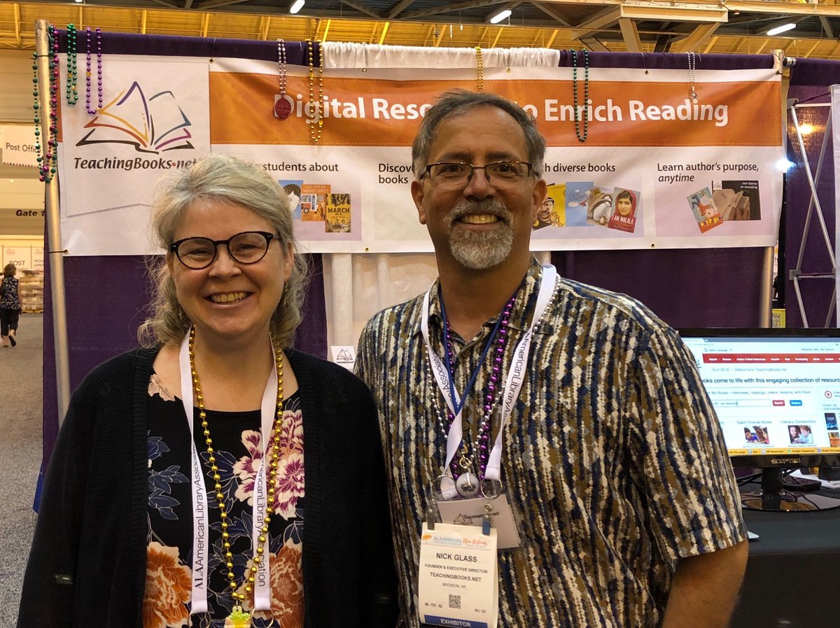 test Twitter Media - Emily and Nick happily starting #ALA2018. If in New Orleans come visit us at 3657. Regardless, let the good times roll! https://t.co/U10WSdDrbA