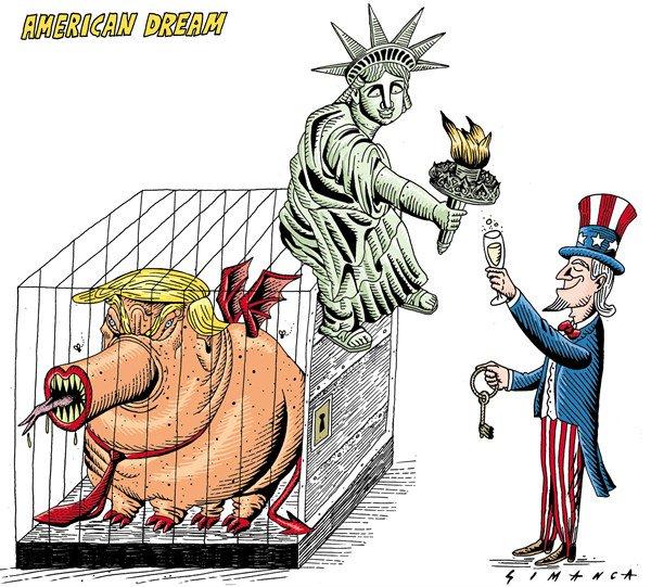 American Dream - by Osmani Simanca