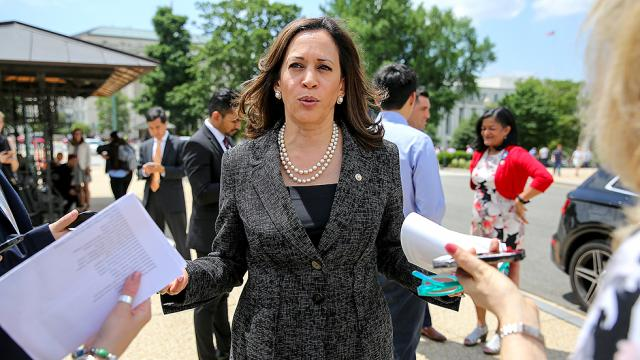 Kamala Harris: Trump's treatment of migrants is 'a crime against humanity' hill.cm/1Bu2qMH
