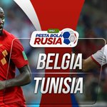 Belgia vs Tunisia Twitter Photo